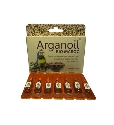 Аргановое масло косметическое в ампулах