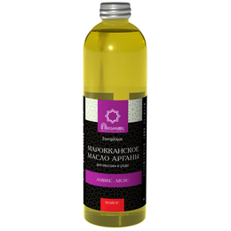 Аргановое масло для ухода и массажа (амбра-мускус) 500 мл