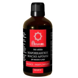 Аргановое масло для ухода и массажа (апельсин-грейфрут)