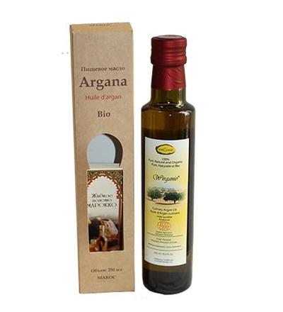 Аргановое масло пищевое из обжаренных зёрен 250 мл