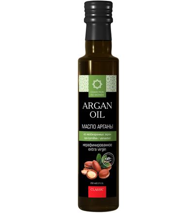 Аргановое масло пищевое из необжаренных зёрен 250 мл