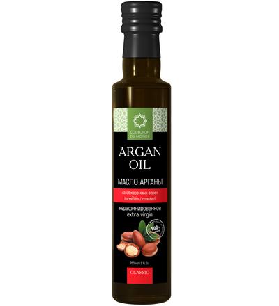Аргановое масло пищевое из обжаренных зёрен